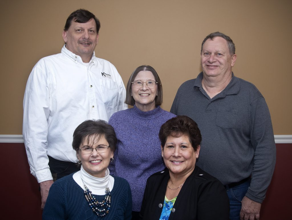 Top Row: Kevin Koch, Kathy Koch, Fred Koch JR., Bottom Row: Gail (Koch) McGowen, Janice (Koch) McGowen